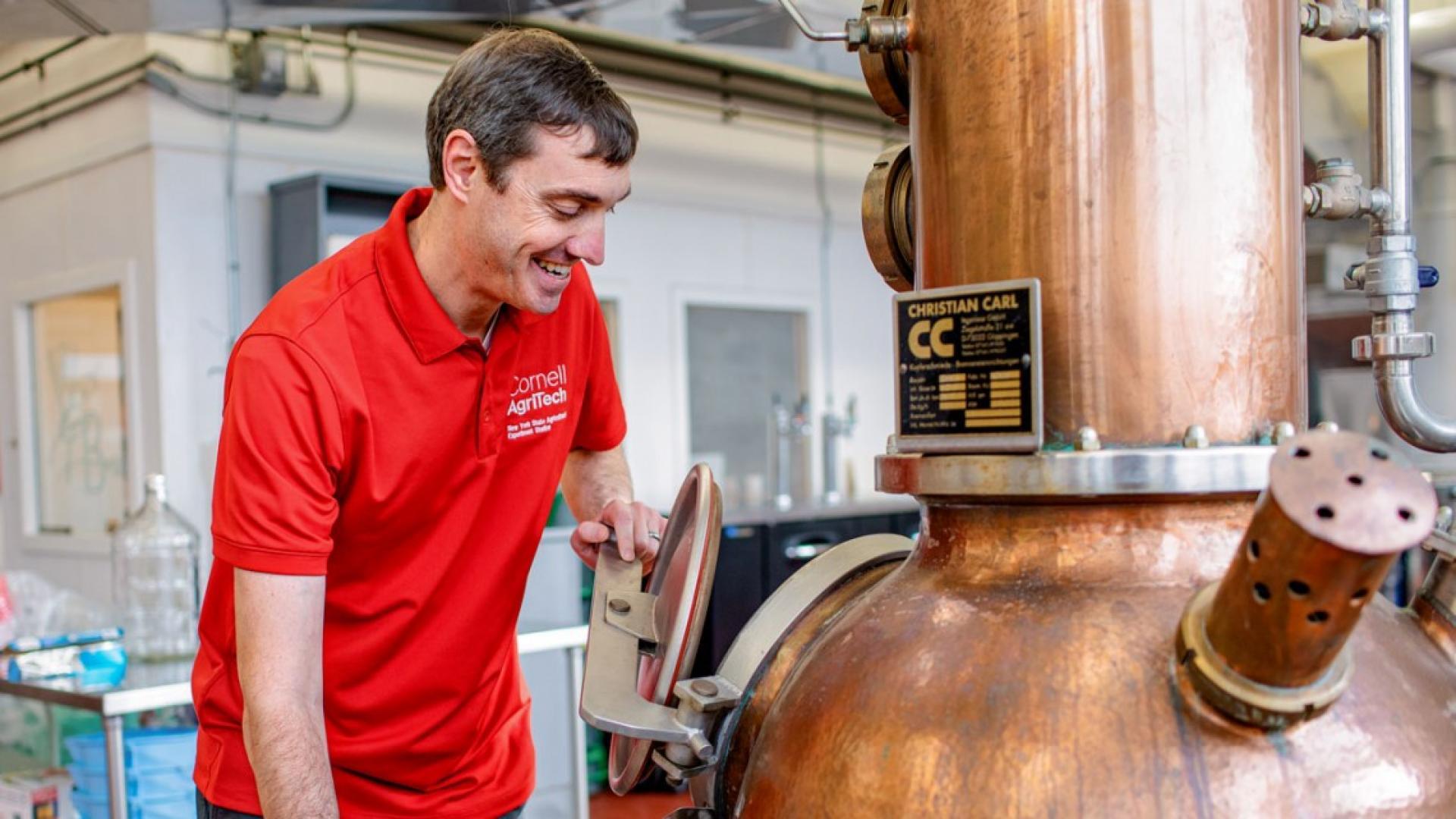 Cornell Aids Distillers In Making Hand Sanitizer Cals