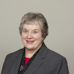 Headshot of female associate dean