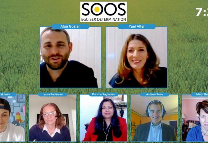 a screenshot of a zoom meeting with six participants