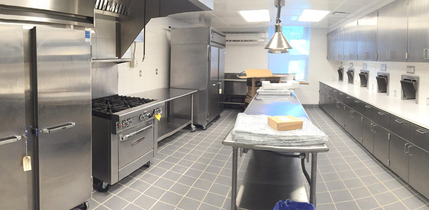 a food science kitchen